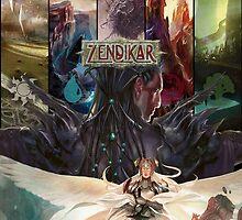 Zendikar MTG by therunningman