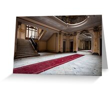Derelict Chateau, Chateau Lumiere Greeting Card