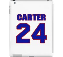 Basketball player Butch Carter jersey 24 iPad Case/Skin