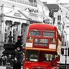 London Bus by armybangkok