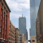 Old and New in Dallas  by John  Kapusta
