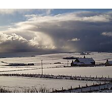 Winter in Orkney Photographic Print