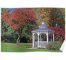 Gazebo Of Dreams Poster
