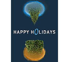 Happy Portal Holiday Photographic Print