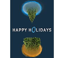 Happy Portal Holiday Photographic Print