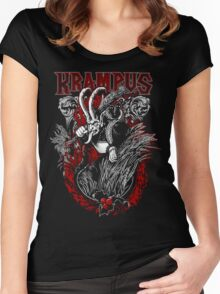 Krampus  Women's Fitted Scoop T-Shirt