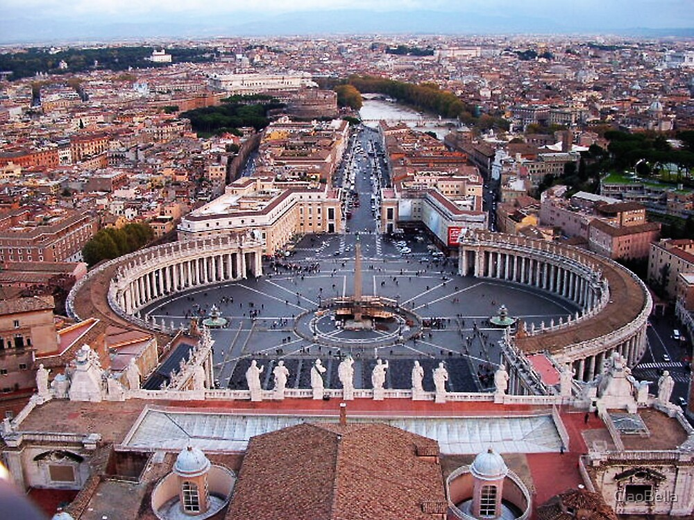 St Peter's in Rome by CiaoBella