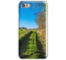Autumn sunshine in the Kent countryside iPhone Case/Skin