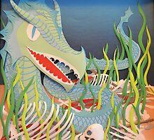 Sea serpent by Lyndsey Hale