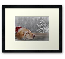 Dreamin' of a White Christmas 2 Framed Print