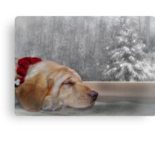 Dreamin' of a White Christmas 2 Canvas Print