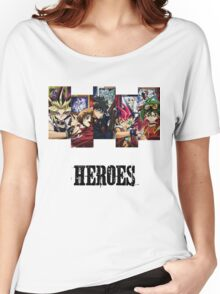 Yu-Gi-Oh Heroes Women's Relaxed Fit T-Shirt