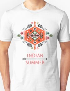 Pattern in native american style Unisex T-Shirt