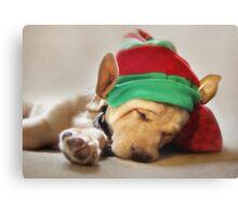 Santa's Helper Canvas Print
