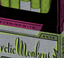 Arctic Monkeys poster Sticker