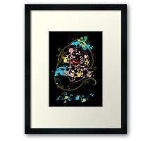 Painting Jasmine Framed Print