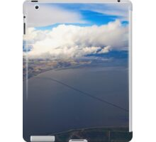 sky. lisbon and tagus river iPad Case/Skin