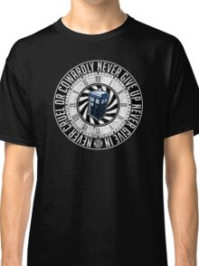 Never Cruel Or Cowardly - Doctor Who - TARDIS Clock Classic T-Shirt