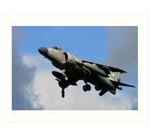 Harrier Jump Jet  Art Print