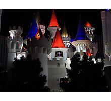 Magic Night In Vegas Photographic Print