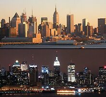 Day and Night in New Yor City by mike1070