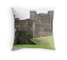 Dover Castle Throw Pillow