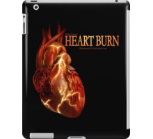 Heart Burn Cover- Side Logo iPad Case/Skin