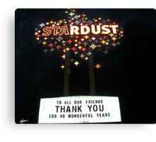 The Stardust  Canvas Print