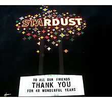 The Stardust  Photographic Print