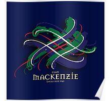 MacKenzie Tartan Twist Poster