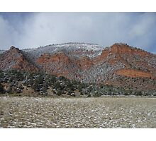 Snow Dusting Of Colorado Photographic Print