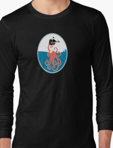 Octopus art Long Sleeve T-Shirt