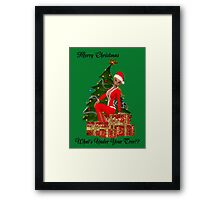 Under Your Tree Framed Print