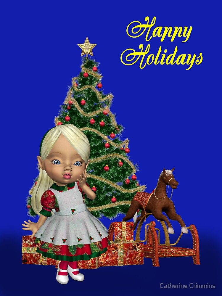 Christmas Holly by Catherine Crimmins