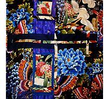 Fabric Art, a Fantasy Montage Photographic Print
