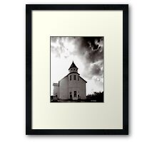 Marble Plains Church Franklin County Tennessee Framed Print