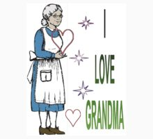 I Love Grandma by randyhanna