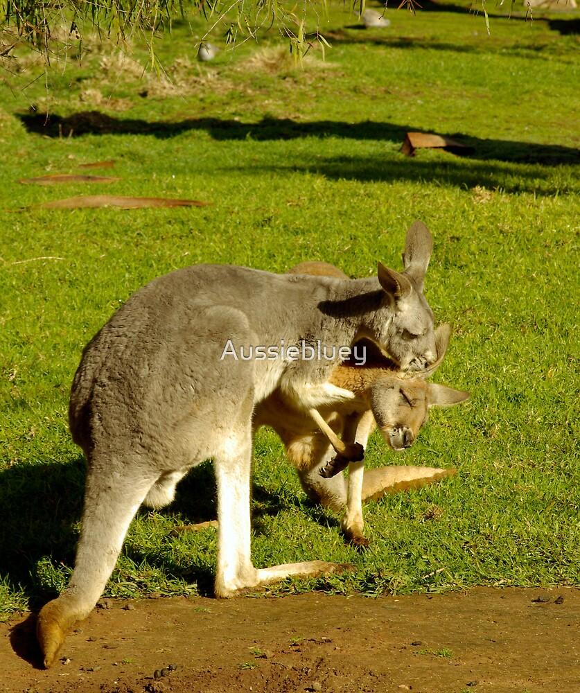 Don't blow in my ear!! by Aussiebluey
