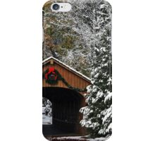 Christmas Bridge iPhone Case/Skin