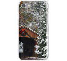 Christmas Bridge iPhone Case/Skin