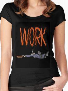 randy, hanna, work Women's Fitted Scoop T-Shirt