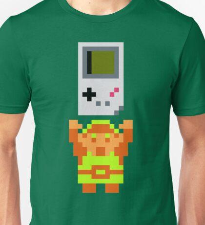 Link + Game Boy Unisex T-Shirt