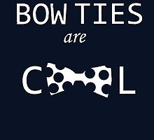 Dr Who: Bow ties are cool by Cheapnchearful