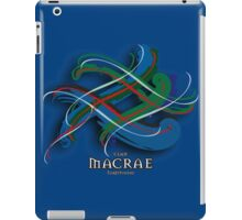 MacRae Tartan Twist iPad Case/Skin