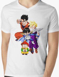 Gohan Mens V-Neck T-Shirt