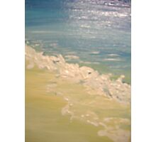 frothy tide Photographic Print