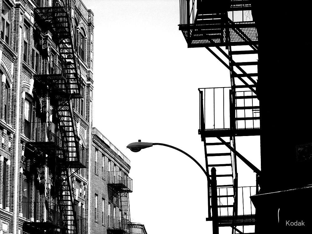 Fire Escapes by Kodak