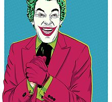 Batman '66 - The Joker by averagejoeart