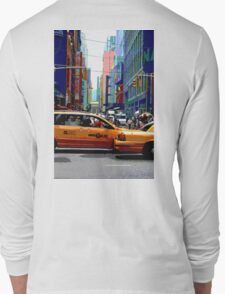 NYC Taxis Long Sleeve T-Shirt