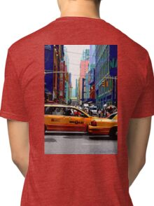 NYC Taxis Tri-blend T-Shirt